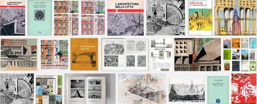 Tutti i libri de l architettura della citt for Aldo rossi architettura della citta